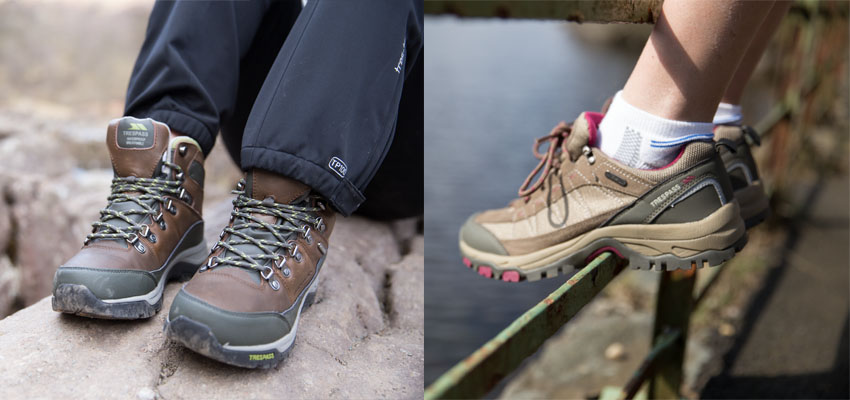 hiking boots vs trail runners trespass expert advice