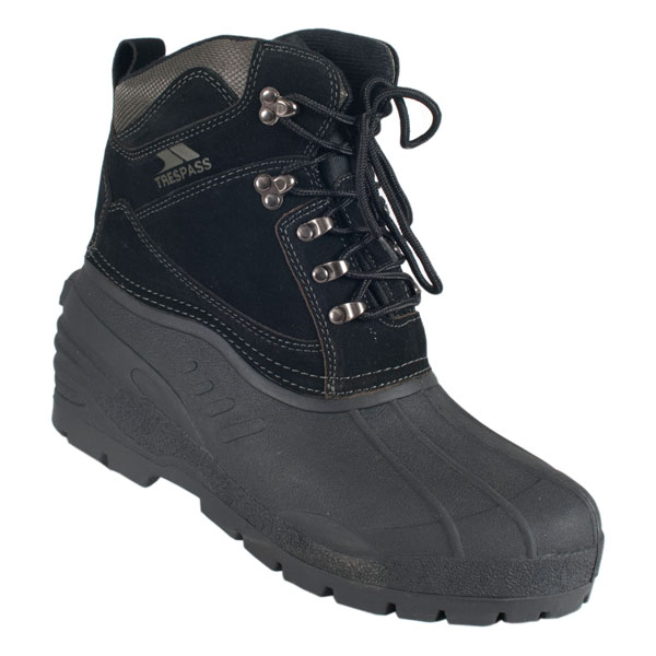 trespass aldor mens waterproof winter snow boots ebay