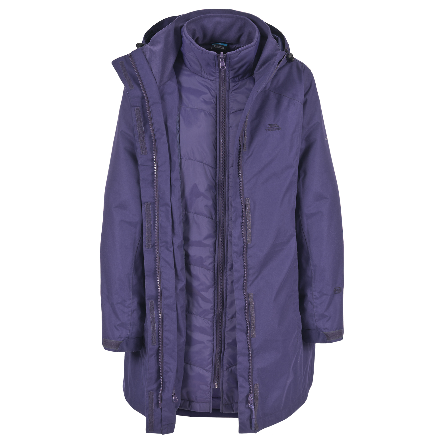 Trespass 3-in-1 Jackets. Looking for a versatile waterproof jacket, that you can wear in the spring, summer, autumn and winter? A 3-in-1 jacket will provide you with comfort and warmth, and is adaptable to your surroundings.