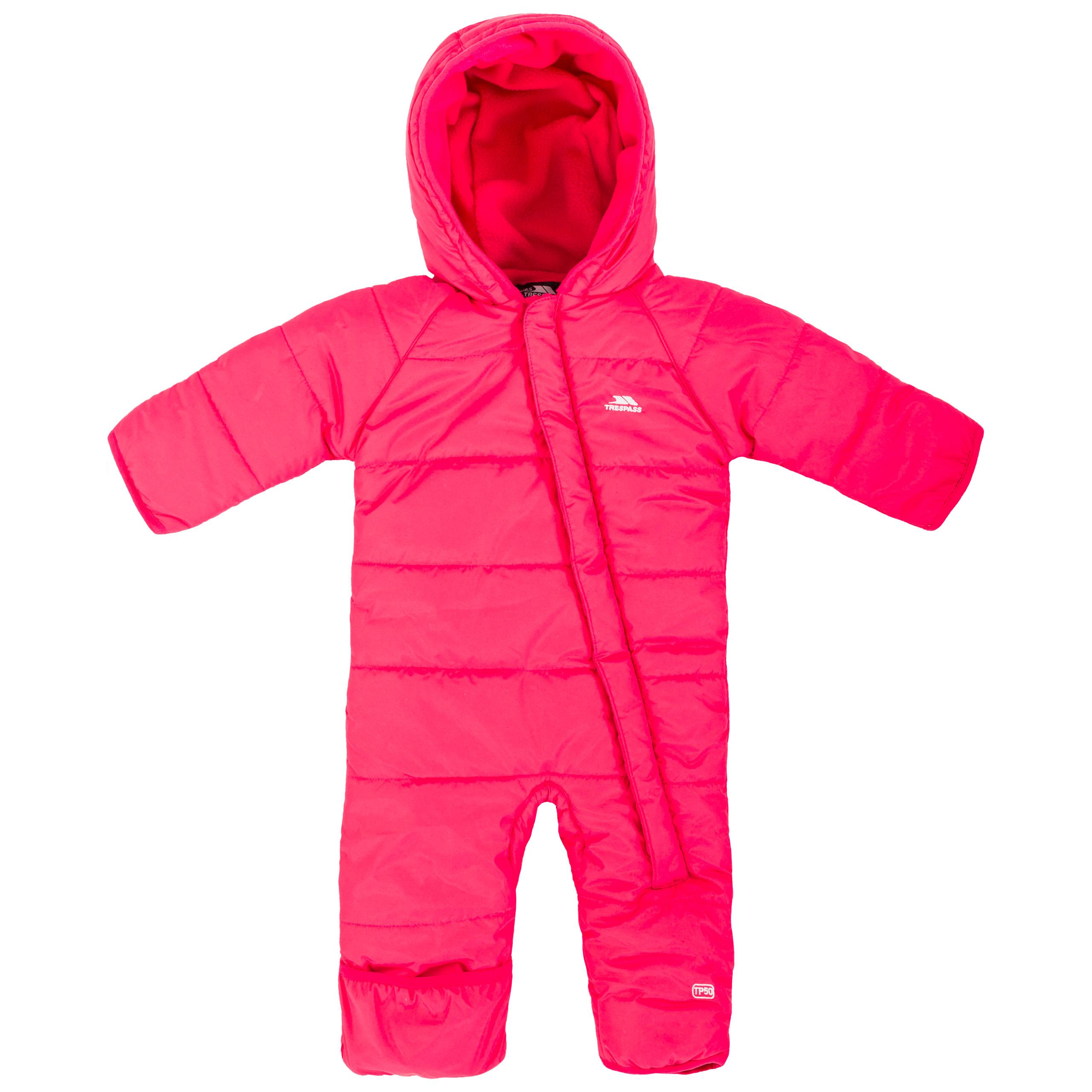 913e12ffc27d TRESPASS amcotte bébé d  hiver à Capuche Combinaison de ski Matelassé  Garçons Filles pramsuit