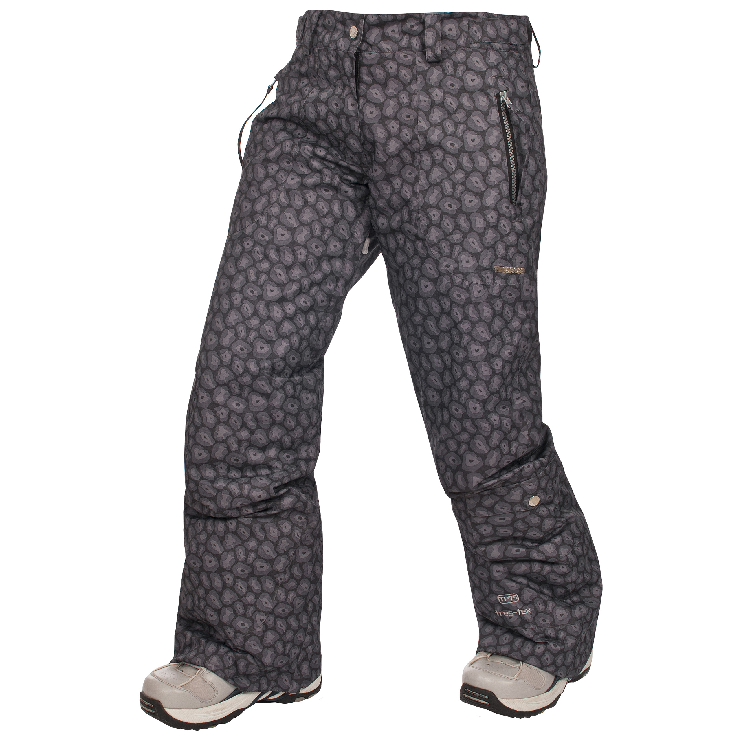 Browse a selection of name brands such as Burton, DC, Roxy, Volcom, and more to find a pair of snow pants that fit comfortably and goes with your snowboard jacket and other snow clothes. These women's snowboard pants are perfect for snowing, skiing, or even shoveling your driveway.