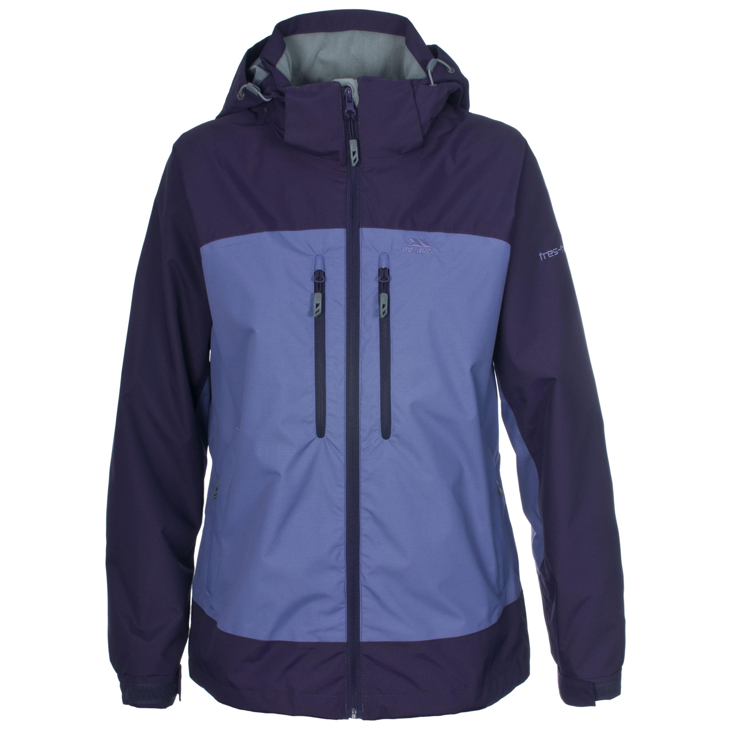 Trespass PIRATA Womens Waterproof and Breathable Rain Coat ...