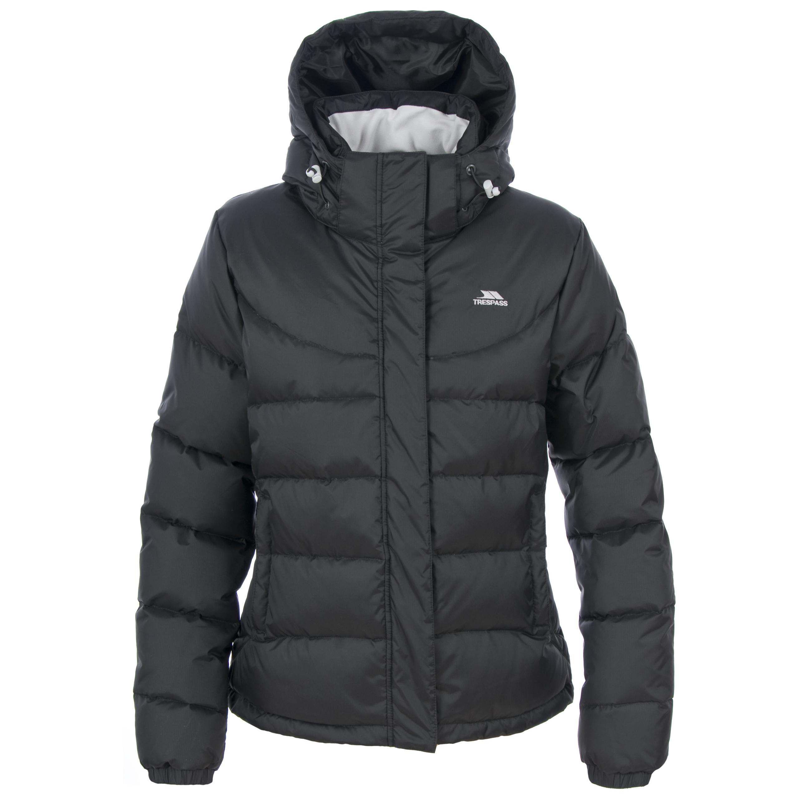 Trespass JALINTA Womens Ladies Hooded Padded Winter Down Coat ...