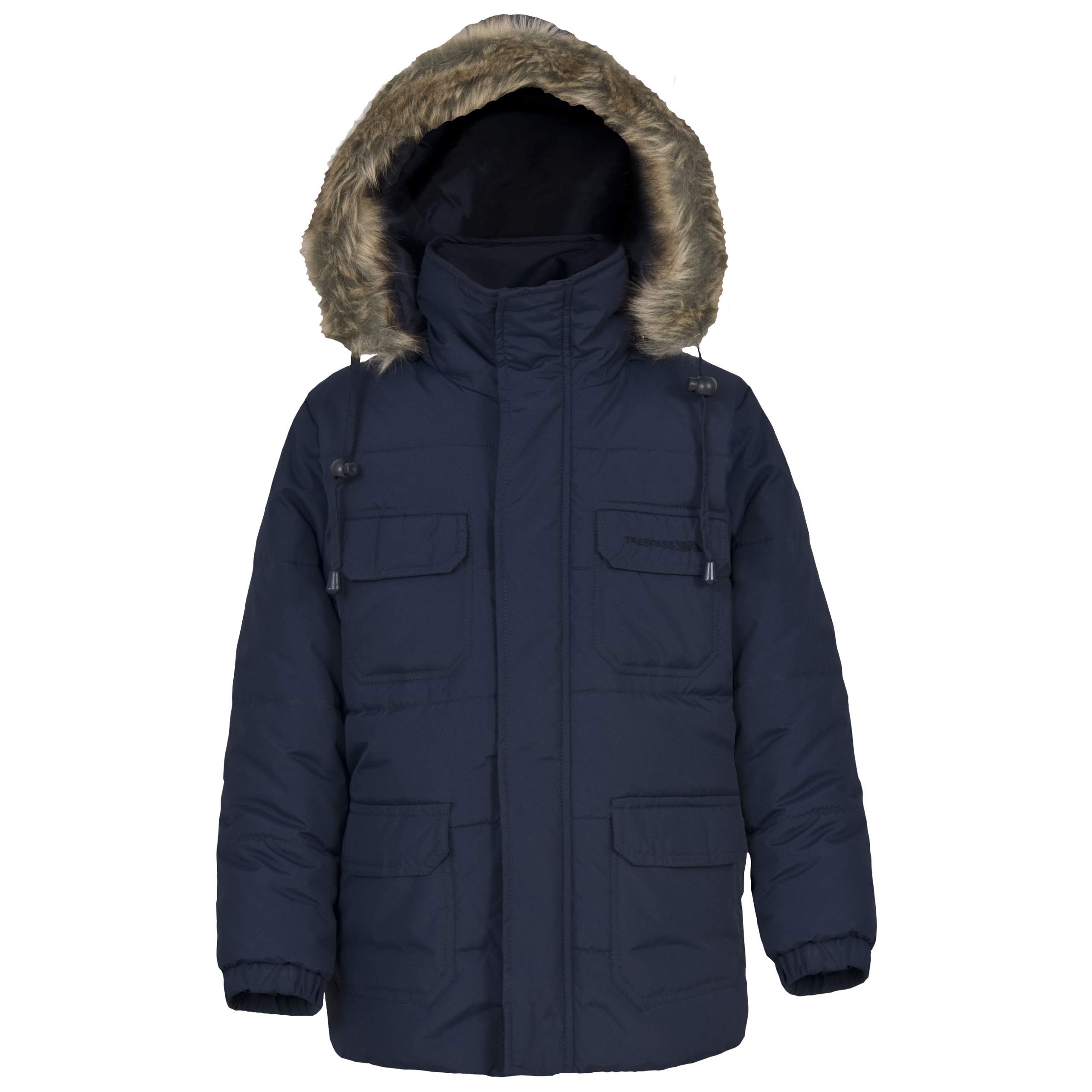 Trespass ANZIO Boys Padded Windproof Casual Coat Waterproof Jacket | EBay