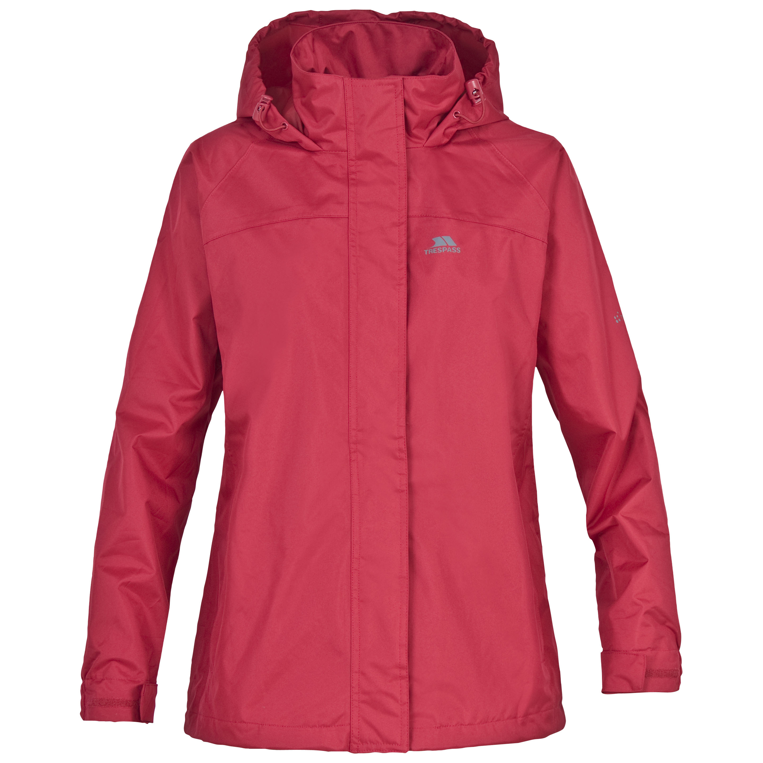 Trespass Nasu Womens Windproof and Waterproof Jacket with ...