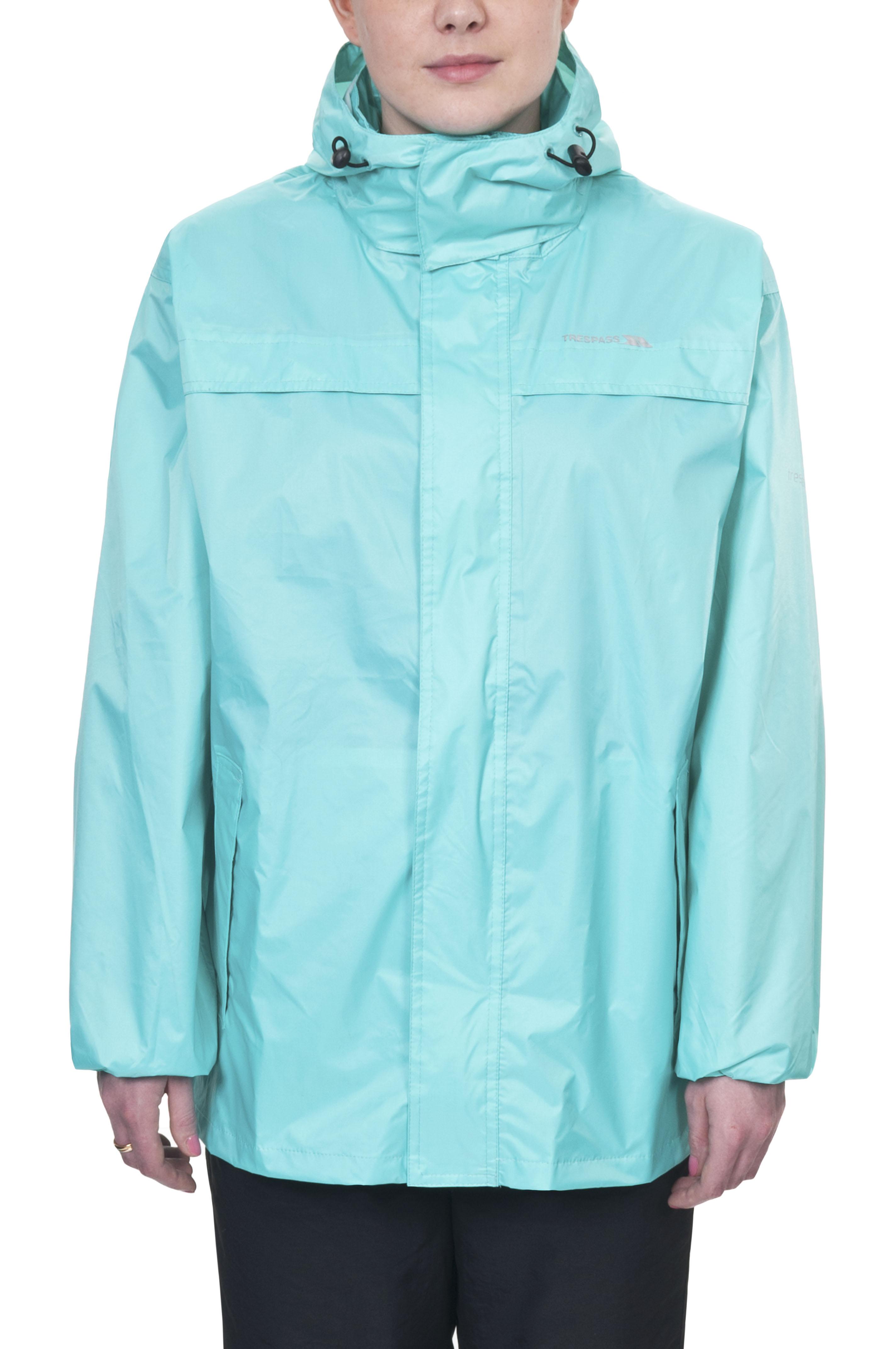 Trespass packa cir homme femme imperm able coupe vent veste de pluie manteau ebay - Veste coupe vent impermeable femme ...