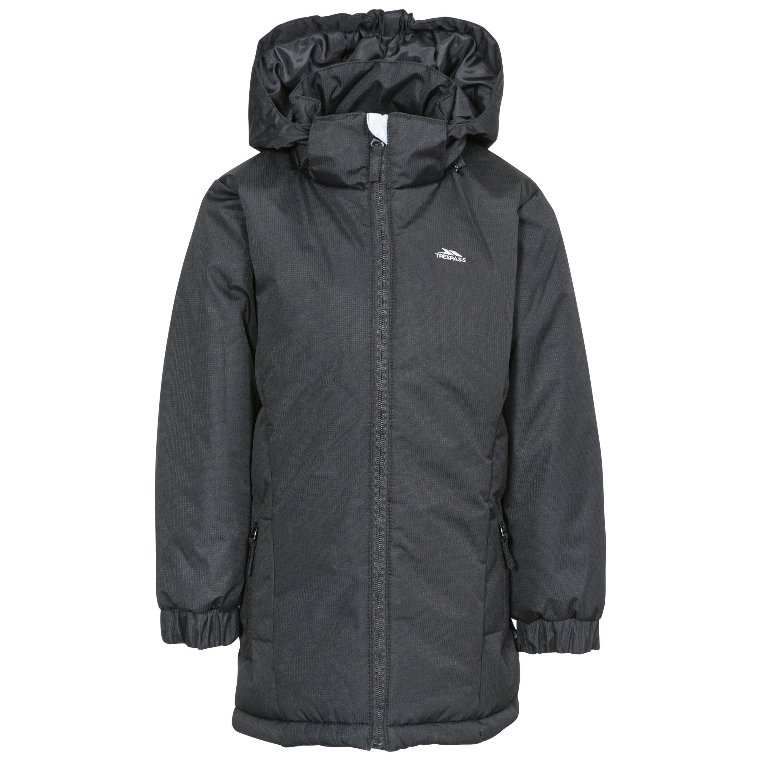 Trespass Primula Girls Padded Jacket with Detachable Hood Water Resistant