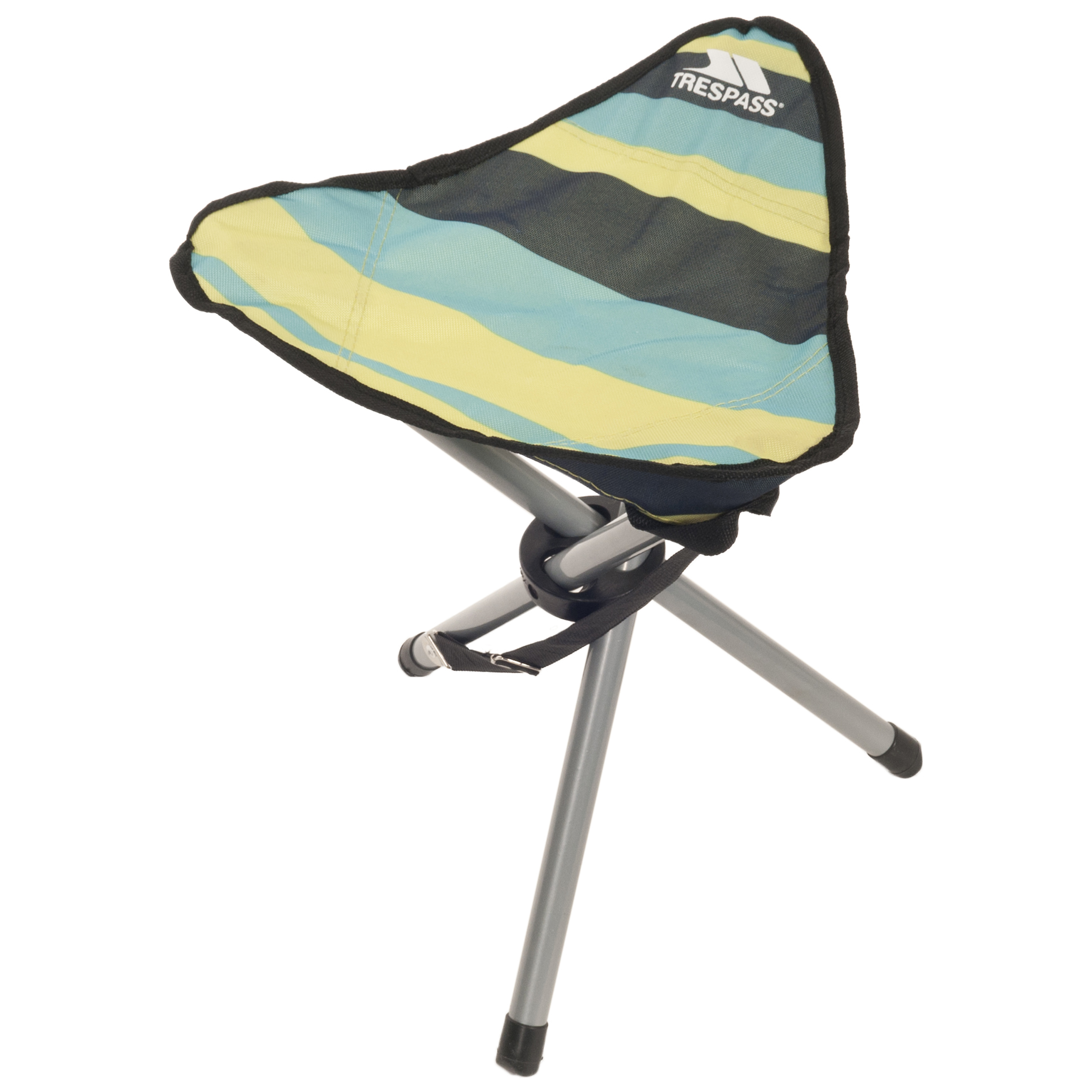 Ritchie Folding Tripod Stool With Carrying Bag Trespass