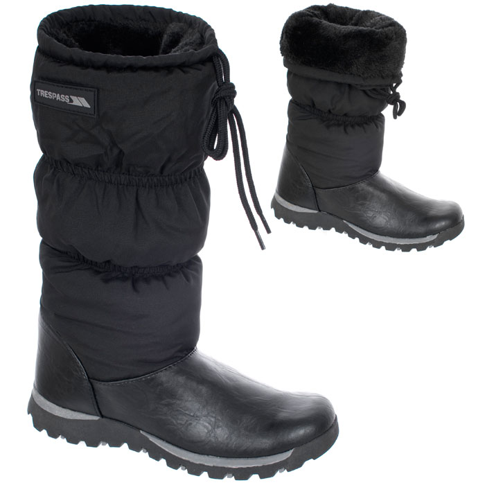 Trespass Olaf Womens Ladies Warm Winter Snow Shoes Boots