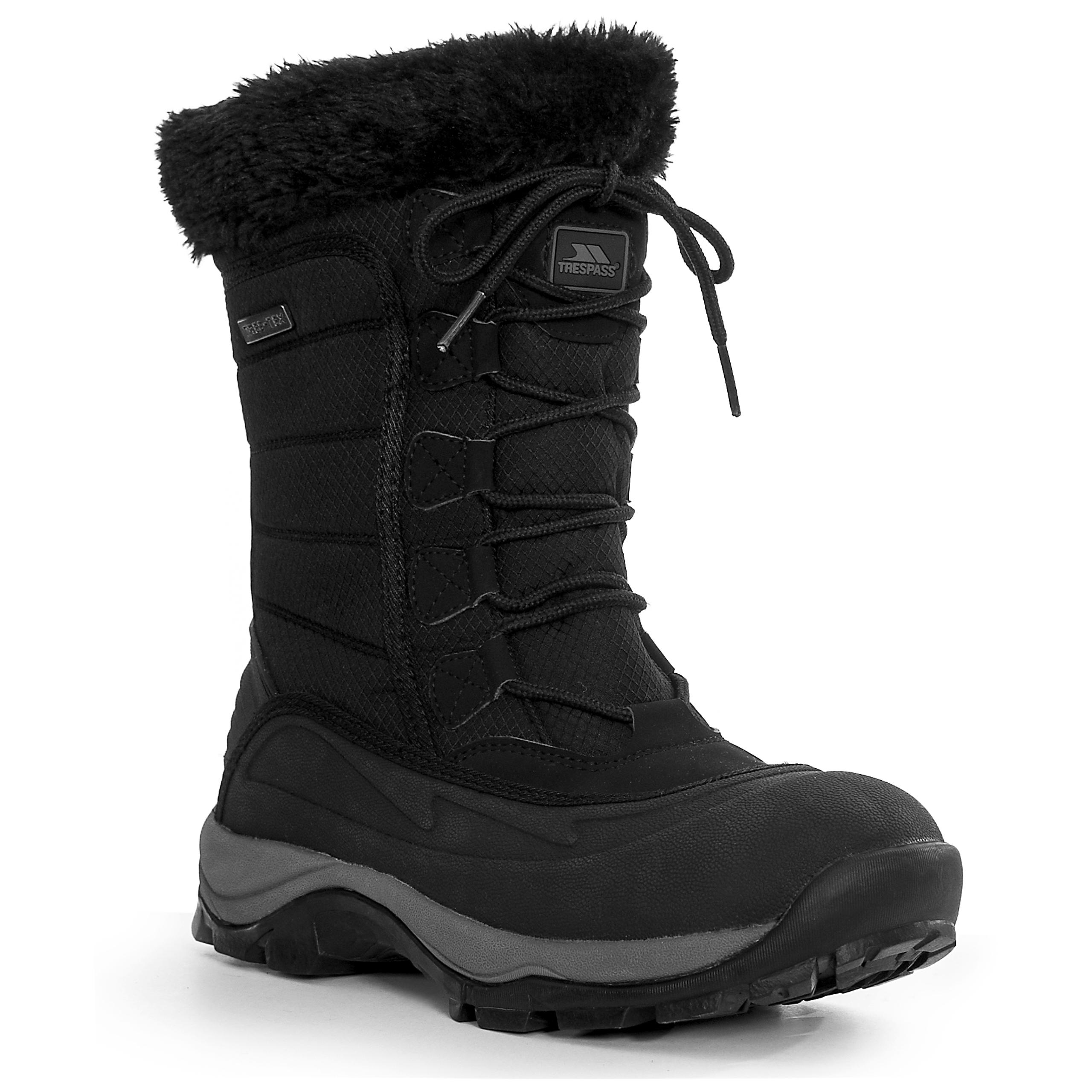 trespass stalagmite bottes de neige chaudes et coupe pluie pour femme ebay. Black Bedroom Furniture Sets. Home Design Ideas