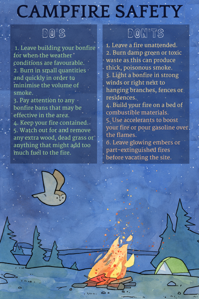 campfire-safety-infographic