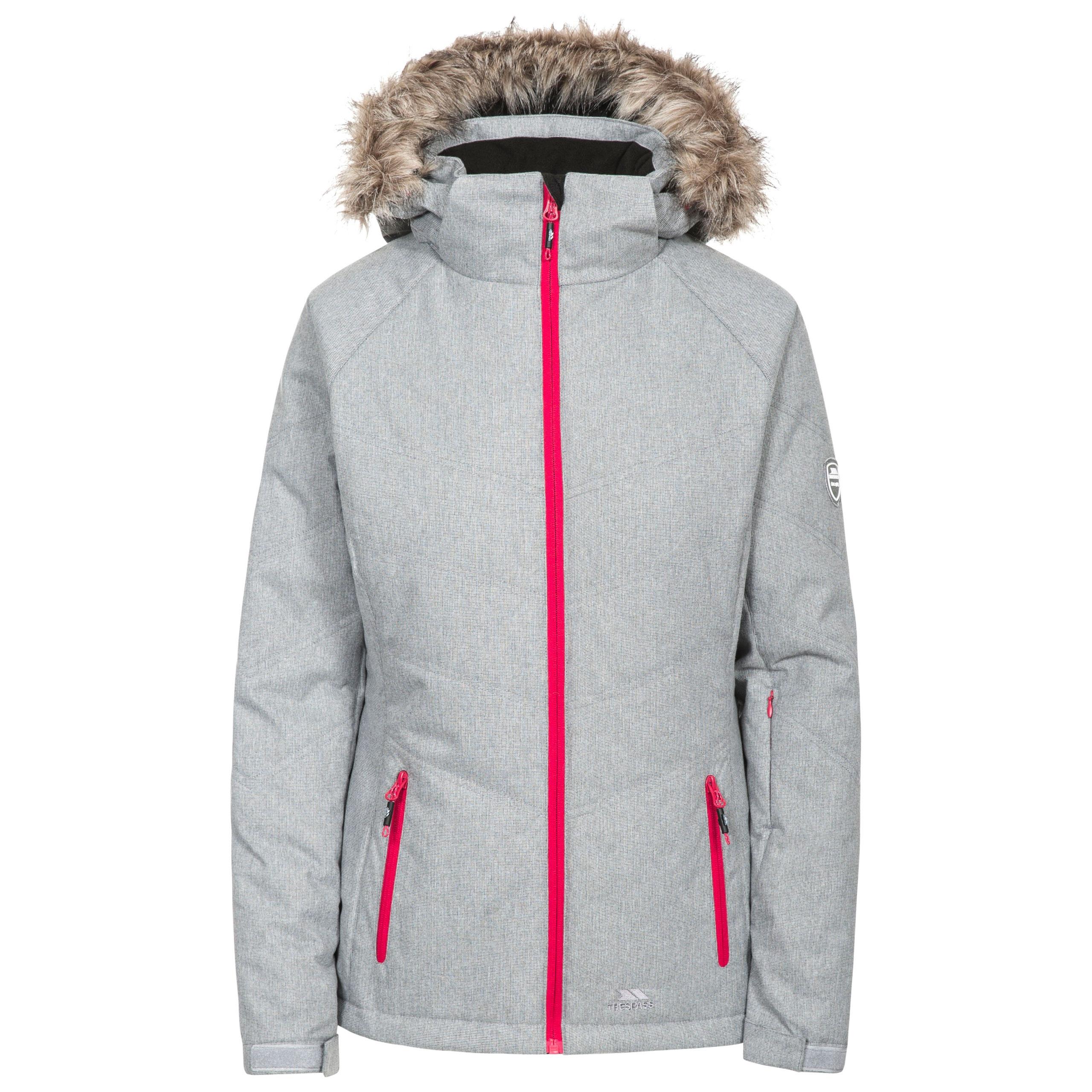 82e5b084b Trespass Always Womens White Ski Jacket Waterproof   Padded with ...