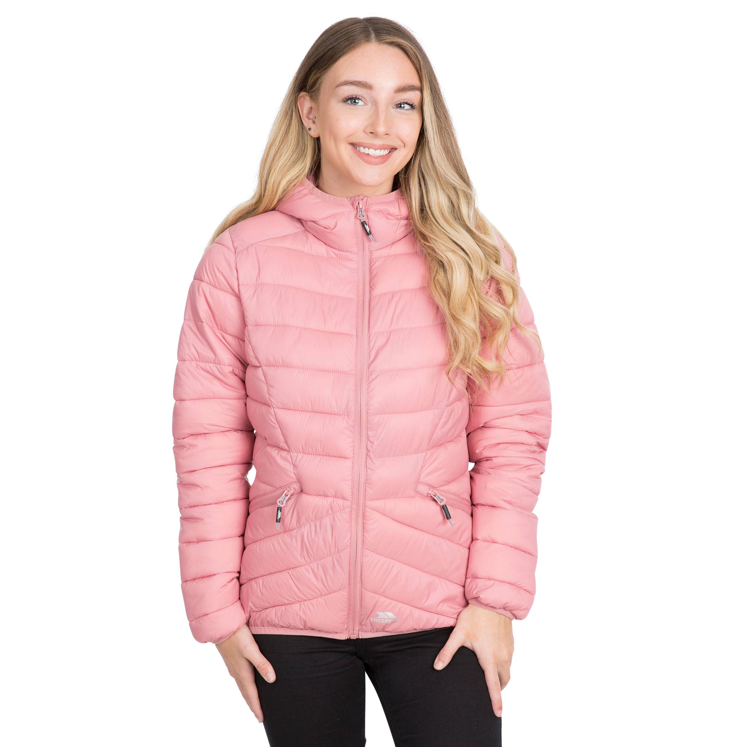 Trespass-Alyssa-Womens-Padded-Jacket-Puffer-With-Hood-For-Ladies thumbnail 17