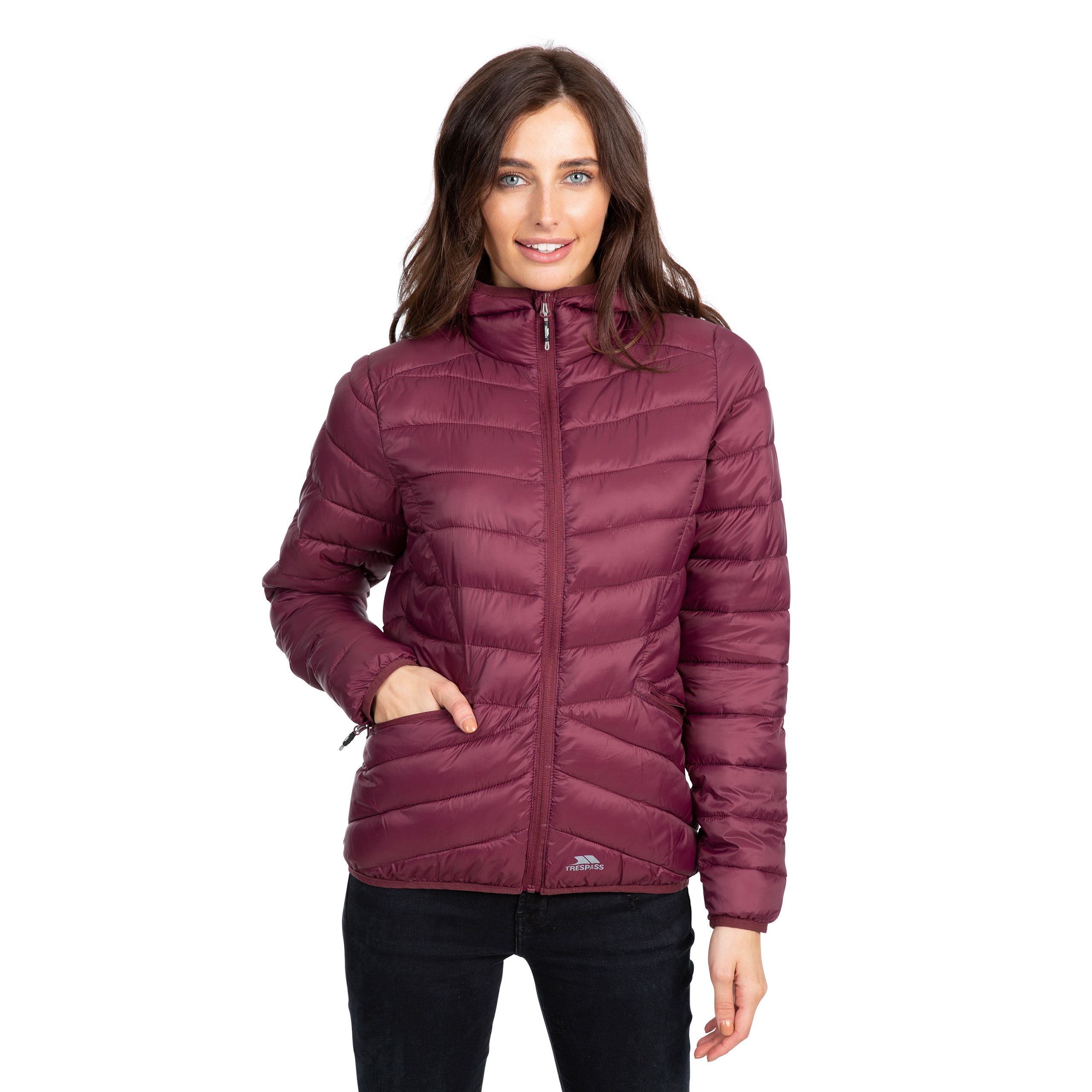 Trespass-Alyssa-Womens-Padded-Jacket-Puffer-With-Hood-For-Ladies thumbnail 19