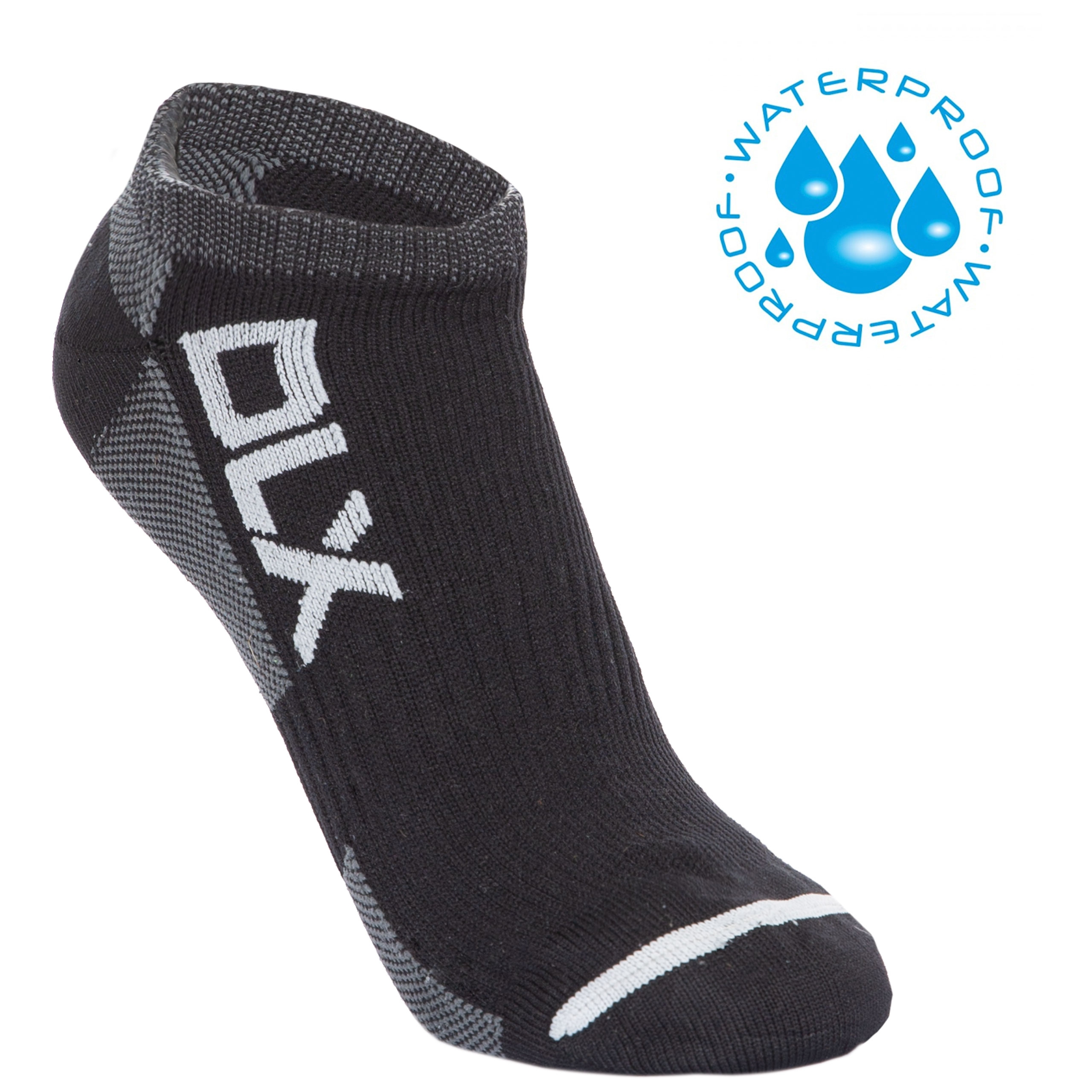 Amphibian Unisex Dlx Waterproof Trainer Socks