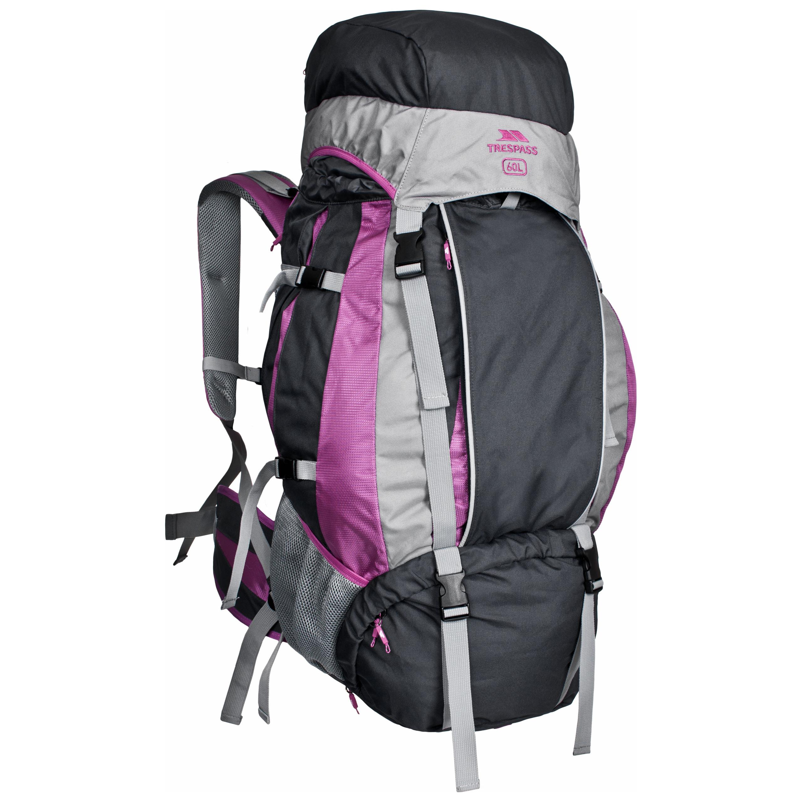 77ea8e4b10 Aria womens 60 litre purple rucksack