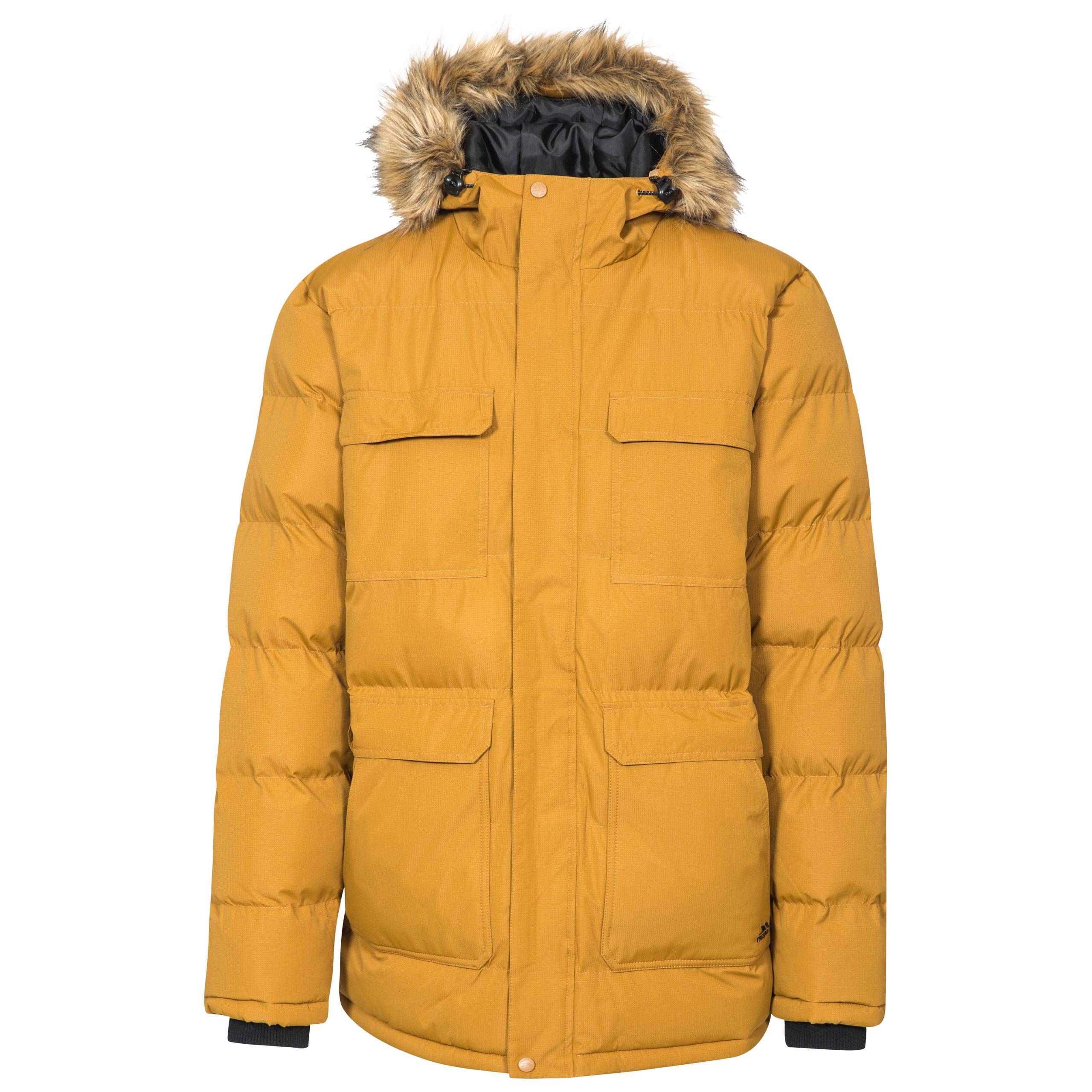 Trespass Mens Baldwin Padded Waterproof Jacket