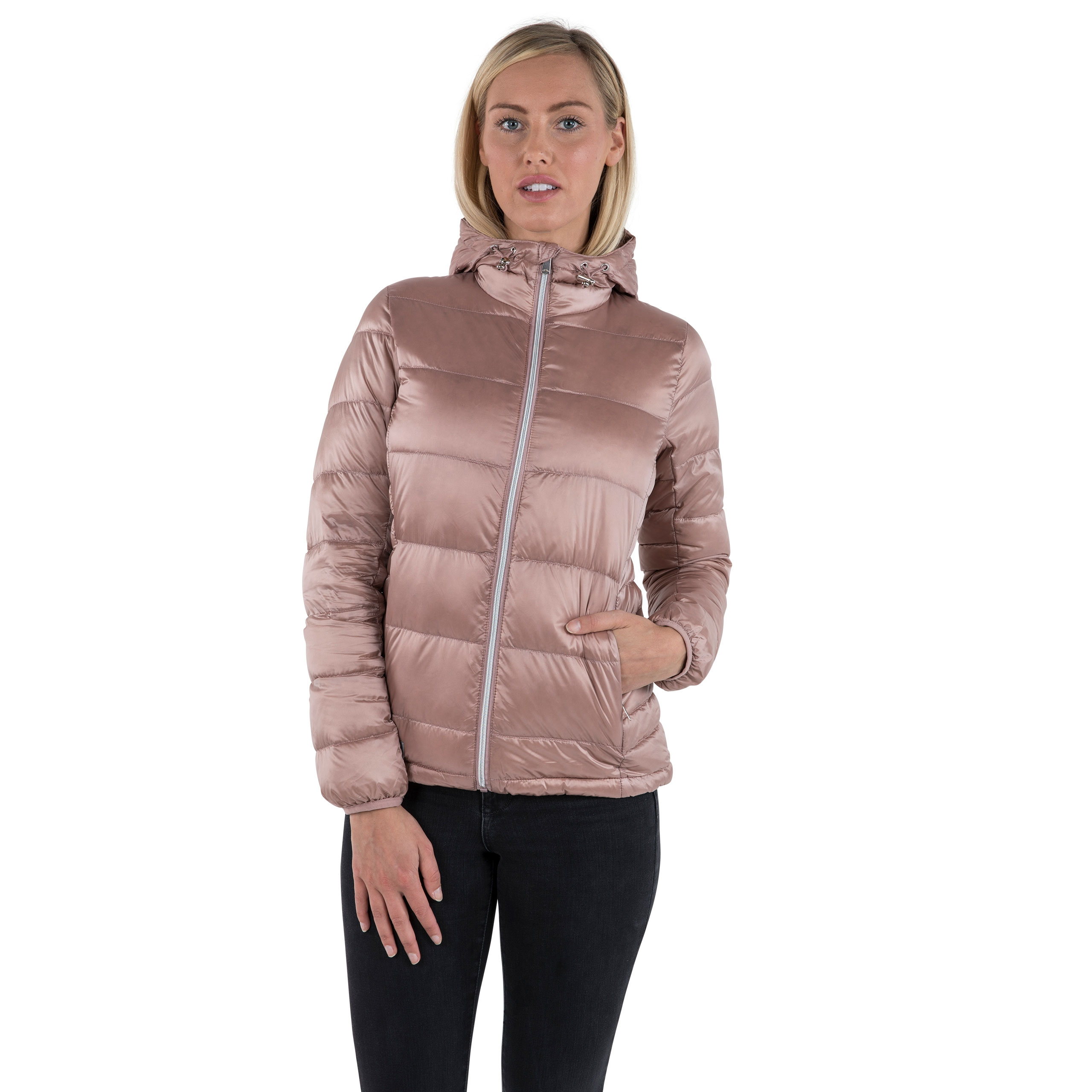 Bernadette Womens Hooded Down Jacket
