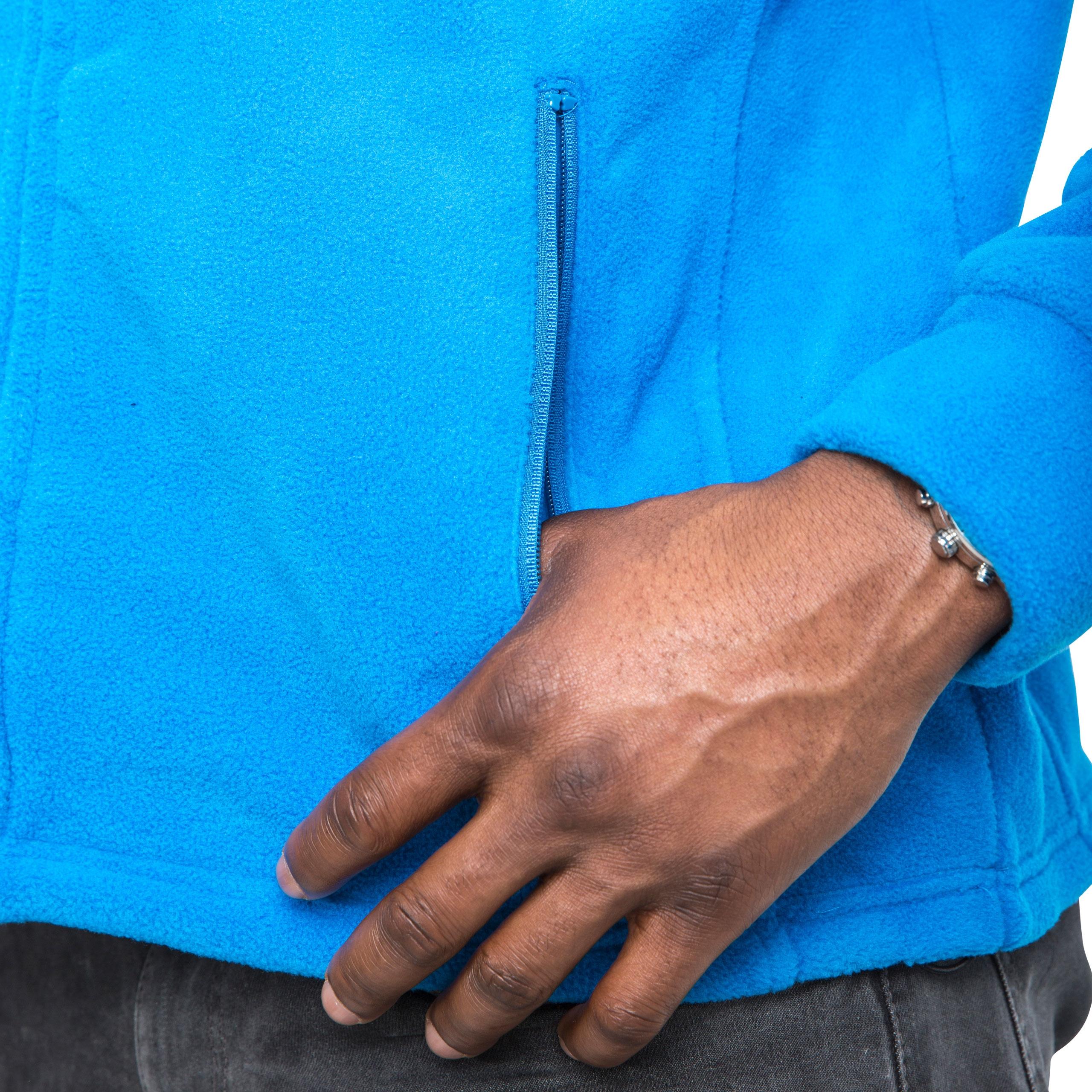Trespass-Bernal-para-hombre-Peso-Pesado-Jersey-Cremallera-Completa-Polar-calida-Casual miniatura 11