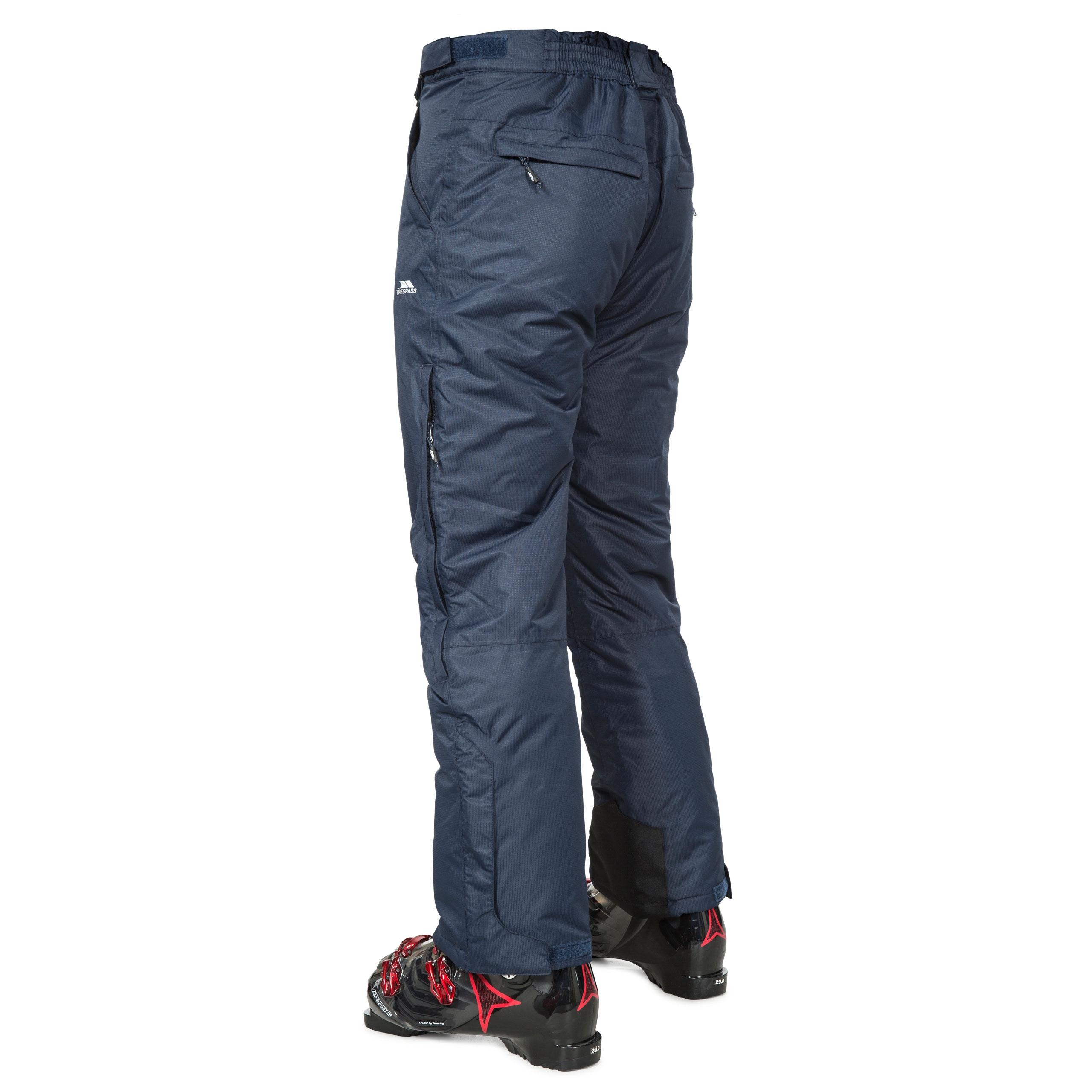 Trespass-Bezzy-Mens-Waterproof-Ski-Pants-Snowboarding-Salopettes-with-Braces thumbnail 22