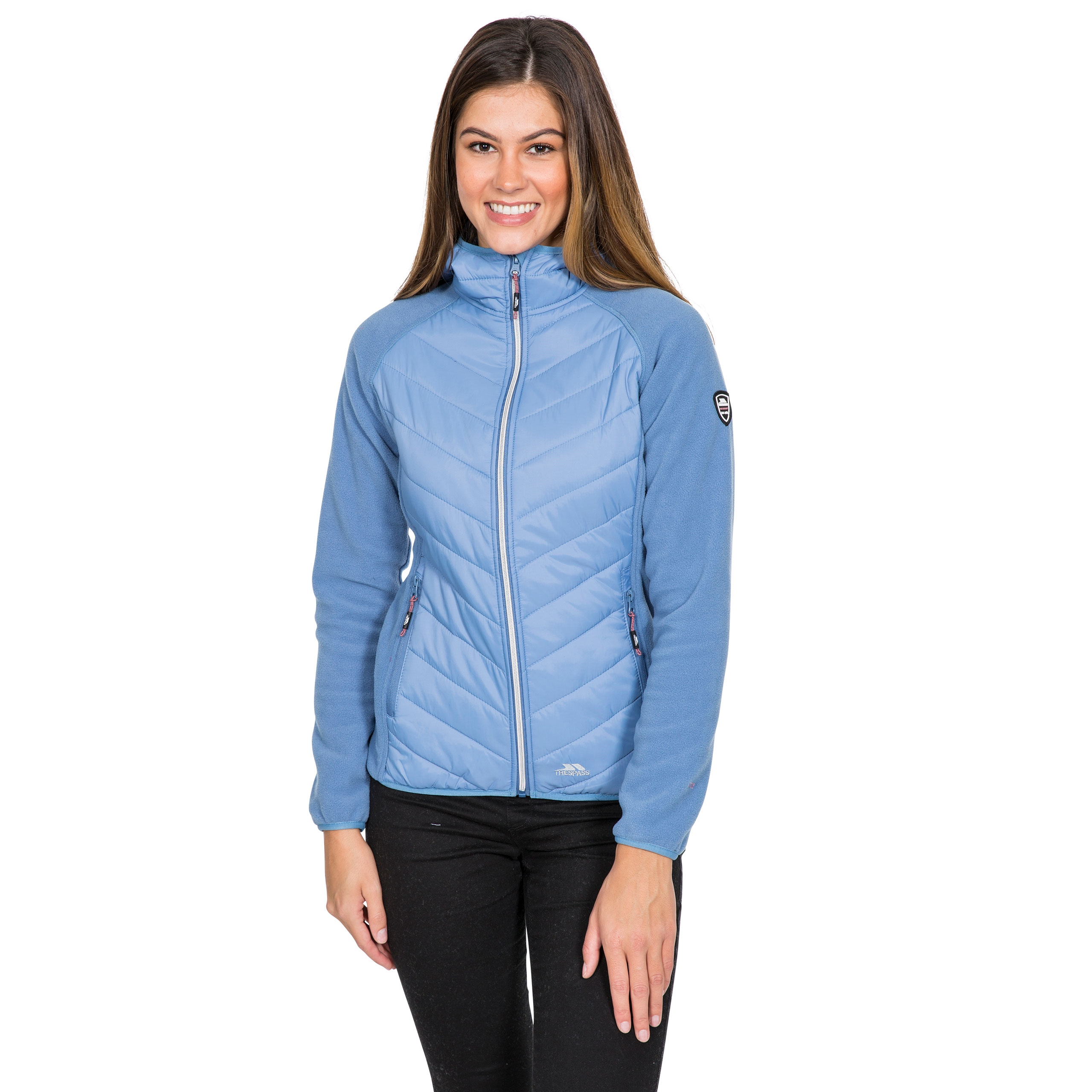 Boardwalk Womens Quilted Hooded Jacket
