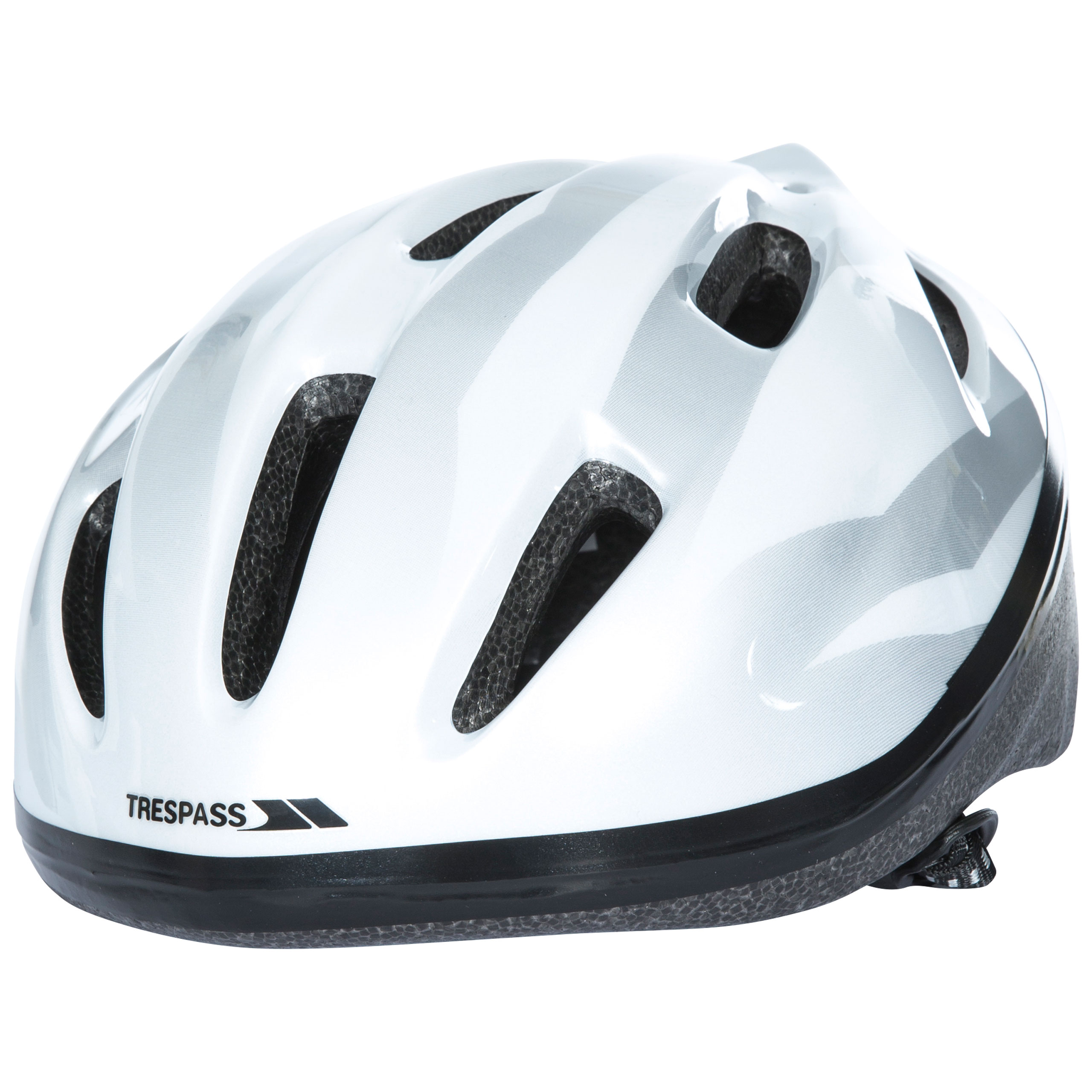 Cranky Kids Cycle Helmet In White