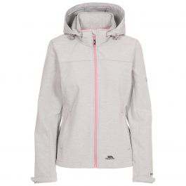 Trespass Womens Leah Waterproof Softshell Jacket with Adjustable Grown On Hood