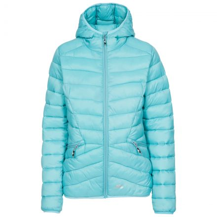 Trespass Womens Padded Jacket Alyssa in Aquamarine