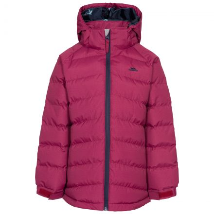 Amira Kids' Padded Casual Jacket in Red
