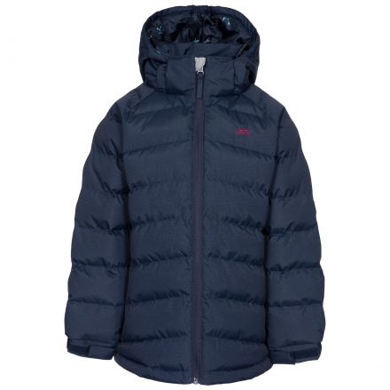 Amira Kids' Padded Casual Jacket in Navy