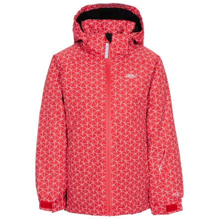 ASSURED - KIDS SKI JACKET in Red