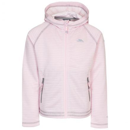 Trespass Kids' Fleece Hoodie Fascinated Pale Pink