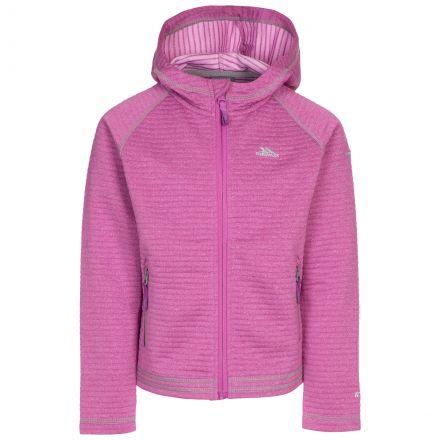 Trespass Kids' Fleece Hoodie Fascinated Pink