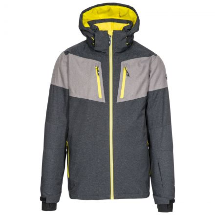 Trespass Mens Ski Jacket Waterproof Windproof Mack Black