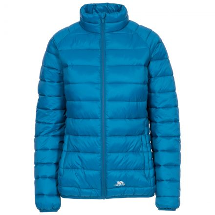 Trespass Womens Casual Jacket Padded Marlene in Blue