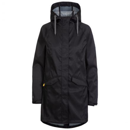 Trespass Womens Softshell Jacket Water Resistant Matilda in Black