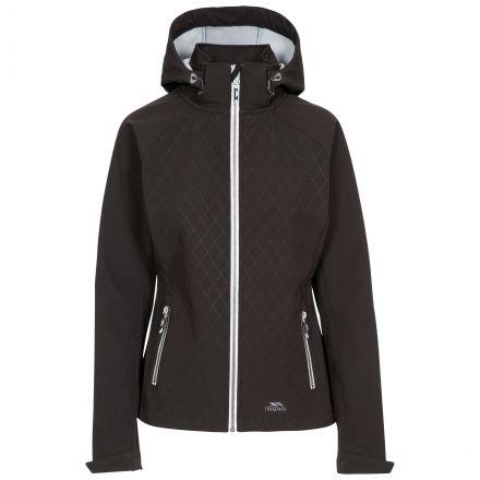 Trespass Womens Softshell Jacket Nelly in Black