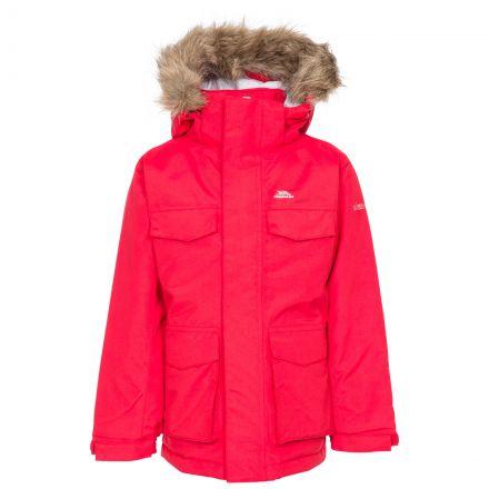 Starrie Kids Padded Waterproof Parka Jacket - RED