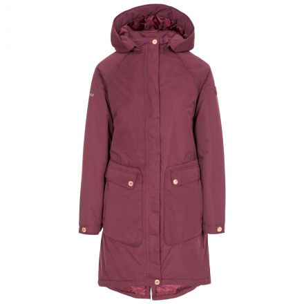 Tamara Women's Padded Waterproof Jacket in Fig