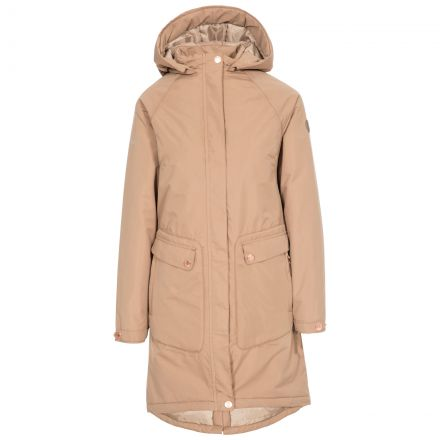 Tamara Women's Padded Waterproof Jacket in Fudge