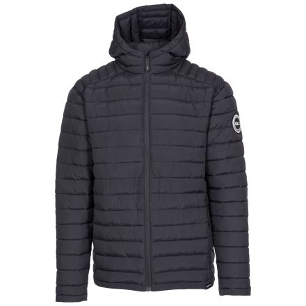 Zeus Men's DLX Eco-Friendly Puffer Jacket - BLK