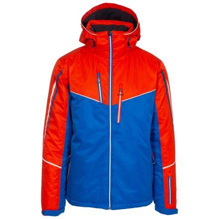 Adwell Men's Waterproof Ski Jacket in Black