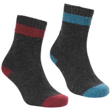 Trespass Unisex Boot Socks Agenta in Blue/Green