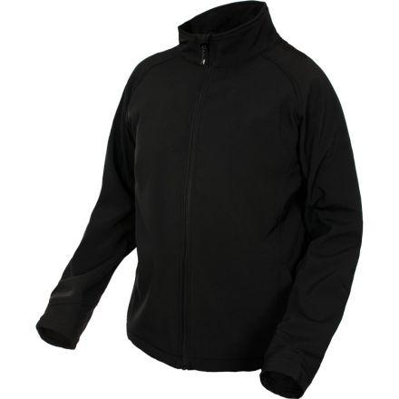 Akron Men's Softshell Jacket in Black