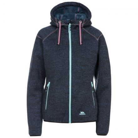 Albatross Women's Heavyweight Fleece Hoodie in Navy