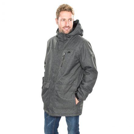 Alby Men's Waterproof Jacket in Grey