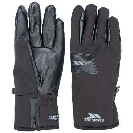 Alpini Adults' Waterproof Gloves in Black
