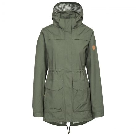Amanita Women's Hooded Waterproof Jacket