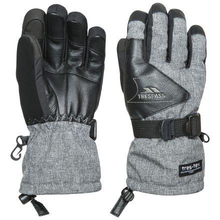 Amari Kids' Touch Screen Ski Gloves in Light Grey