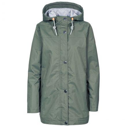 Trespass Womens Waterproof Jacket Amarina in Green
